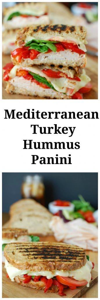 Mediterranean Turkey Hummus Panini Image 8