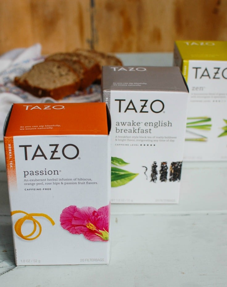 Tazo tea blends