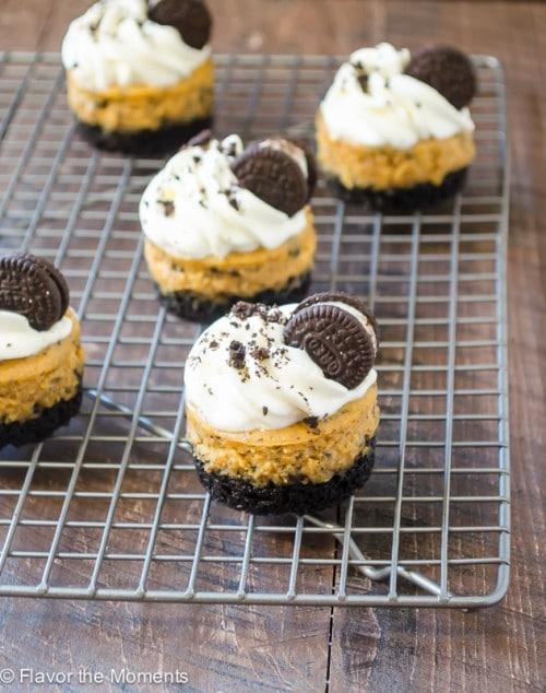 mini-cookies-n-cream-pumpkin-cheesecakes3-flavorthemoments.com_-500x634
