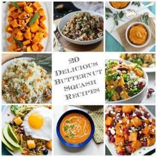 20 Delicious Butternut Squash Recipes