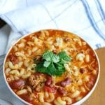 Crock-Pot® Turkey Chili Mac and Cheese