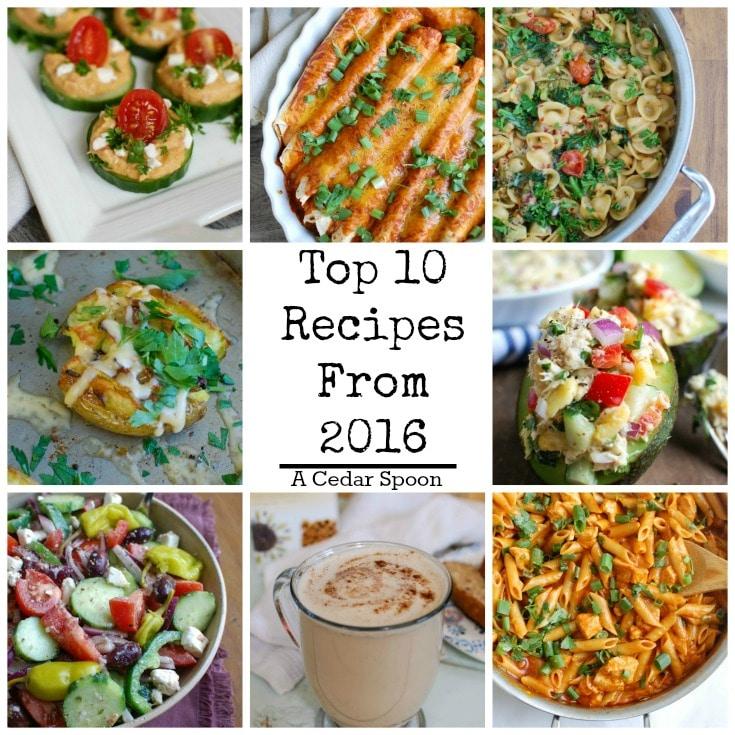 Top 10 Most Popular Recipes Of 2016