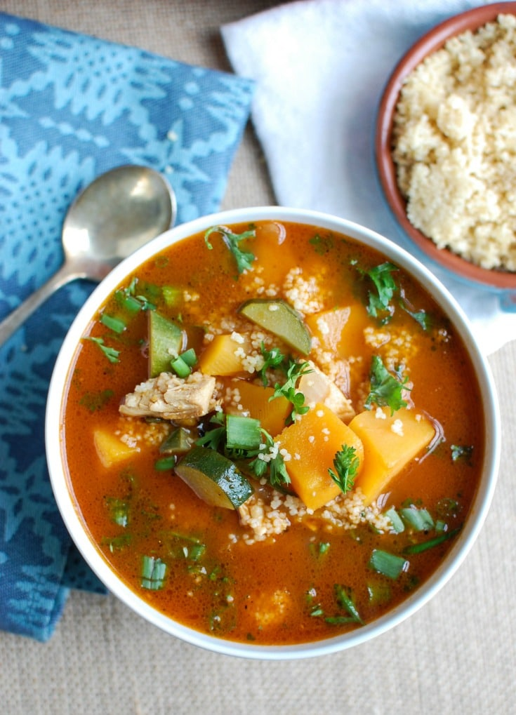 how to make moroccan soup