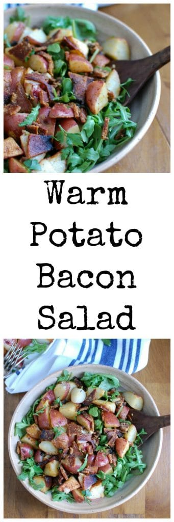 Warm Potato Bacon Salad
