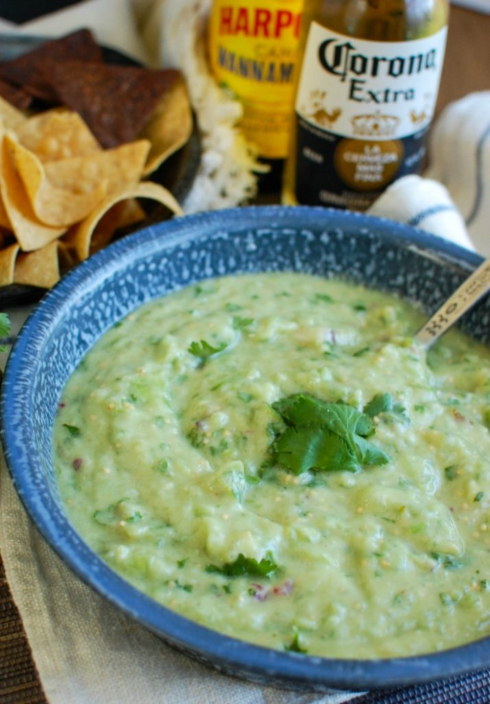 Avocado Tomatillo Salsa - A Cedar Spoon