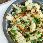 Roasted Parmesan Garlic Cauliflower