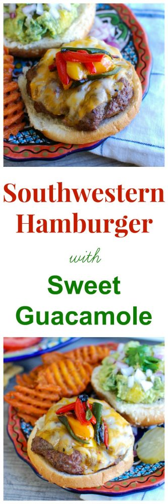 Southwestern Hamburger with Sweet Guacamole 6