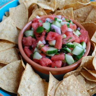 5 Ingredient Watermelon Salsa