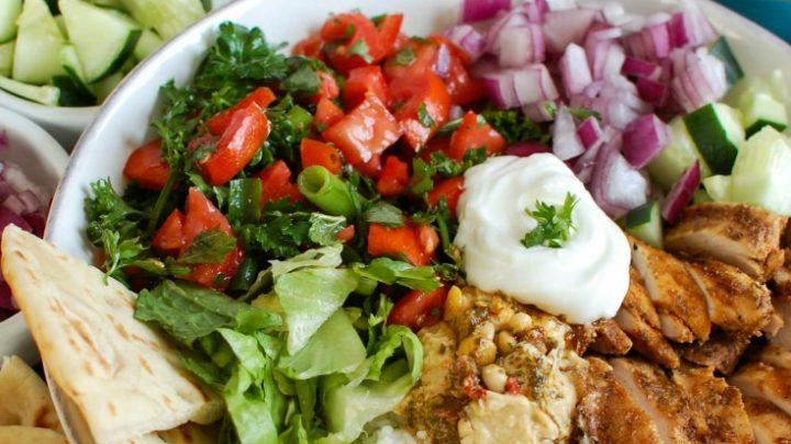 Chicken Shawarma Recipe in bowl