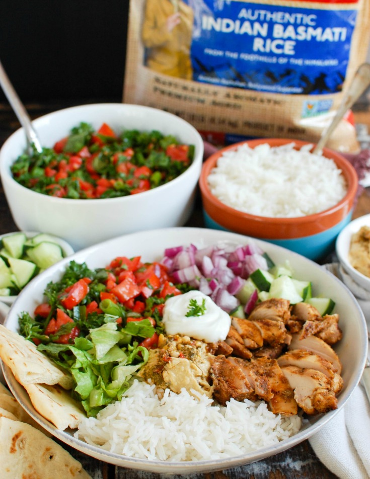 Chicken Shawarma Recipe with rice