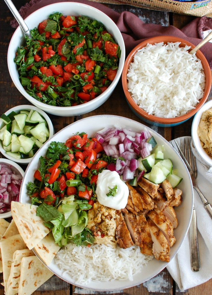 Chicken Shawarma Recipe above