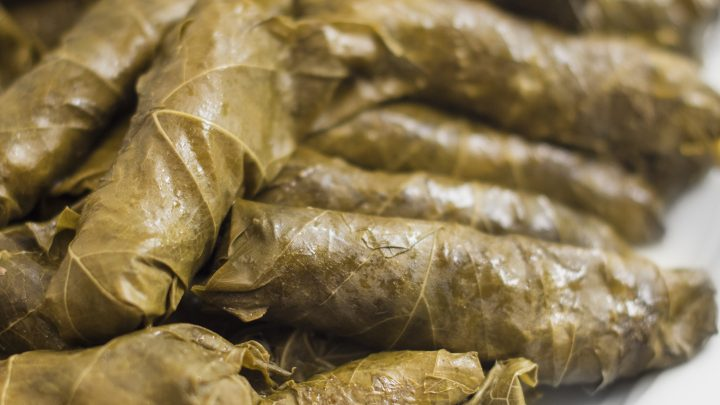 Meat Stuffed Grape Leaves