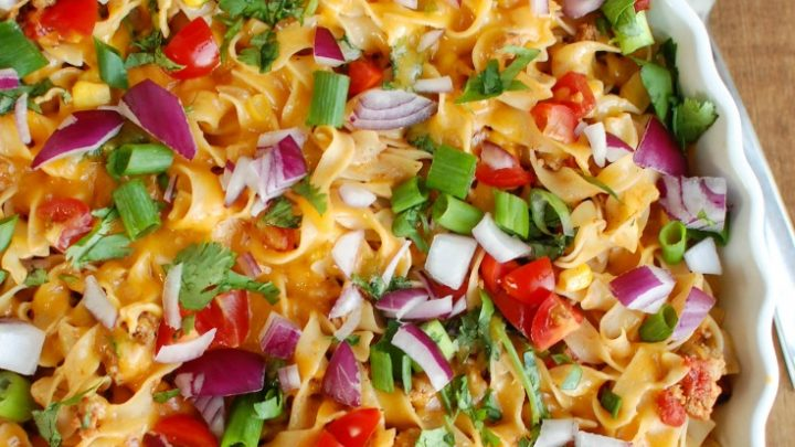 Easy Mexican Noodle Casserole