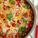One Pot Mexican Stuffed Pepper Casserole