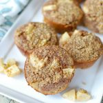 Baked Apple Cinnamon Steel Cut Oat Cups