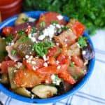 Greek Roasted Vegetables {Briami}