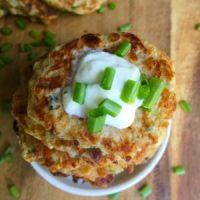 Cheesy Zucchini Fritters