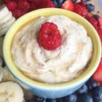 Healthy Yogurt Fruit Dip