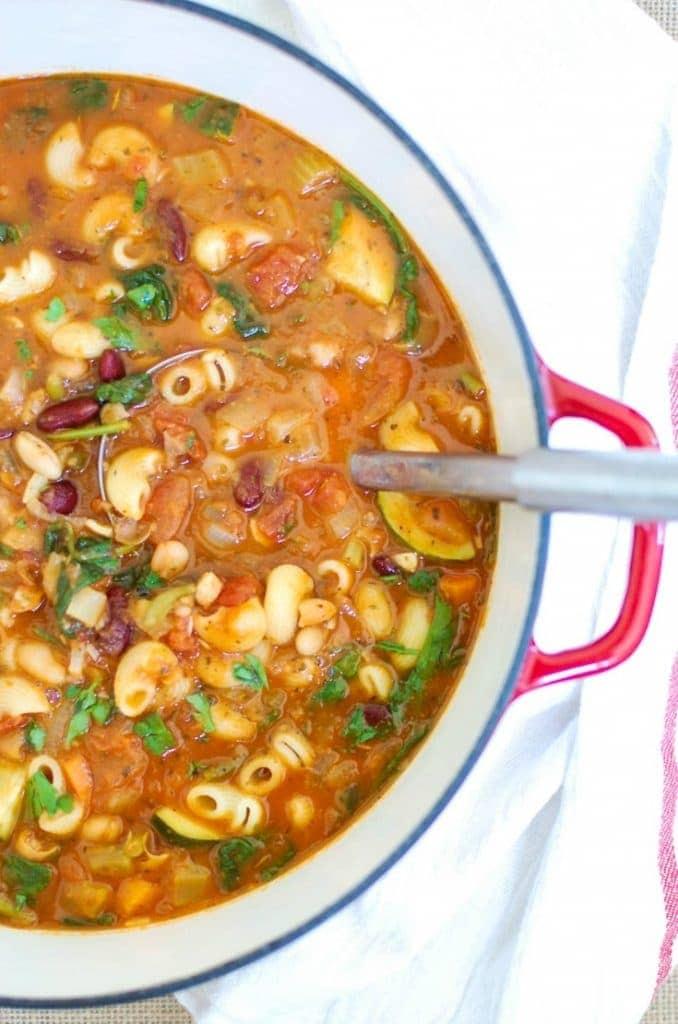 Homemade Minestrone Soup Recipe - A Cedar Spoon Homemade Minestrone Soup Recipe - A Cedar Spoon  soup recipes