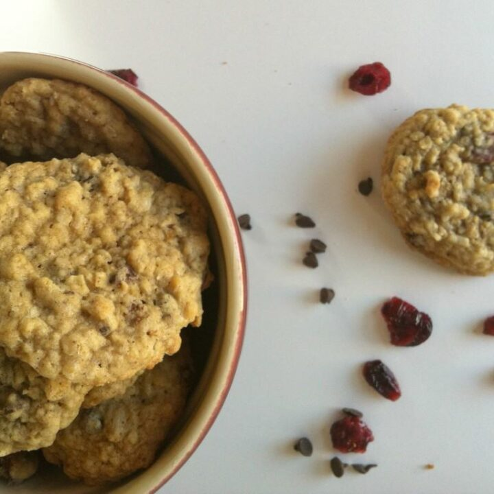 Loaded Oatmeal Cookies {Mom's Kitchen}