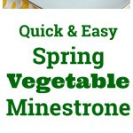 Spring Vegetable Minestrone Collage
