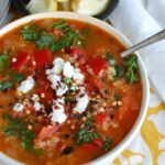 Tomato Red Pepper Bulgur Soup