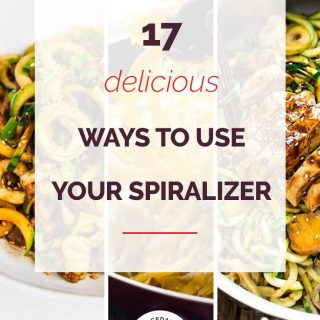 17 Delicious Way to Use Your Spiralizer