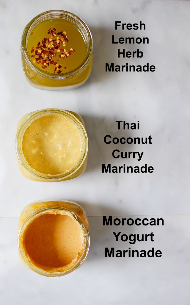 3 Easy Chicken Marinades Cups of Marinade