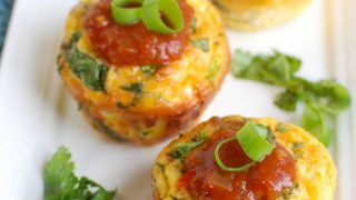 Southwestern Turkey Sausage Egg Cups