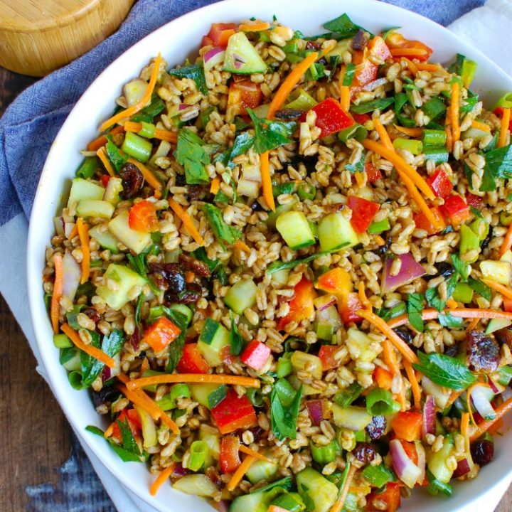 Easy Summer Farro Salad