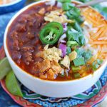 Easy Instant Pot Beef Chili