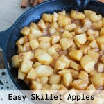 Easy Skillet Apples Text