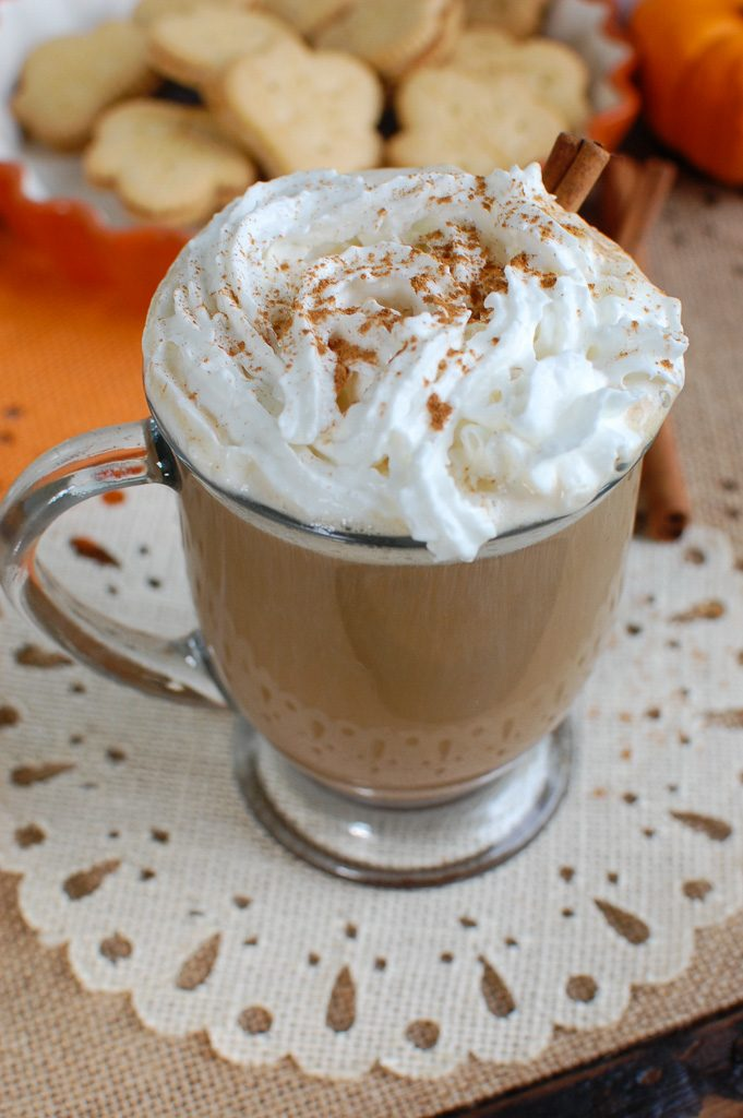 Pumpkin Spice Latte Whip Cream