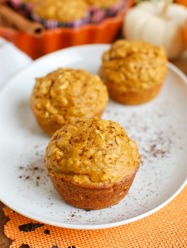 Easy Pumpkin Muffins Three