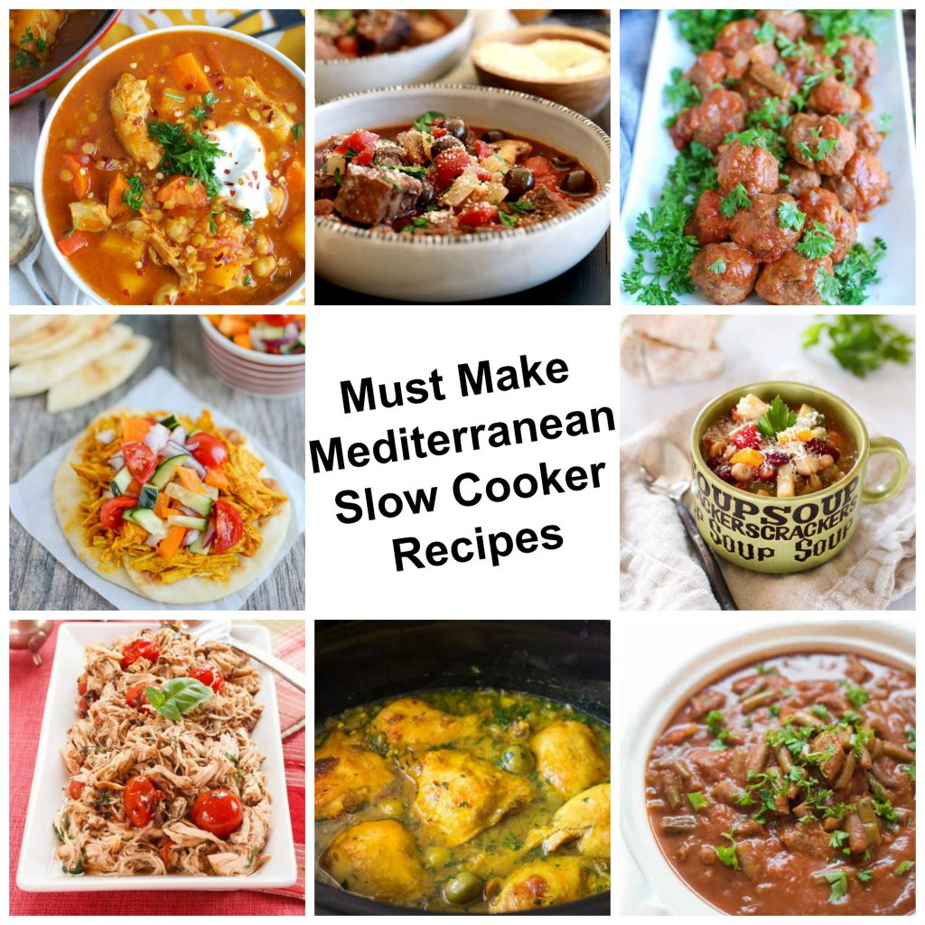 9 Must Make Mediterranean Slow Cooker Recipes