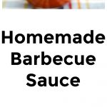 Homemade Barbecue Sauce Collage