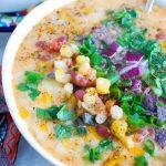 Zesty Bean Posole Soup