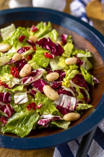 Italian Chopped Salad with White Beans & Sun-Dried Tomatoes – Unsophisticook