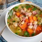White Bean Soup and Ham