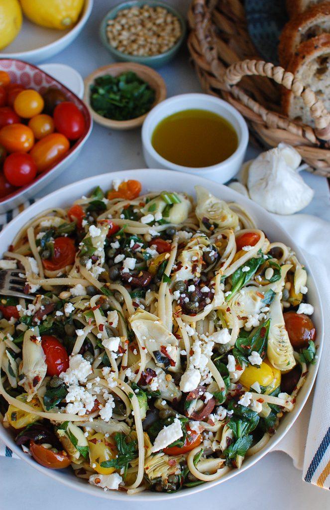 Mediterranean Pasta A Cedar Spoon