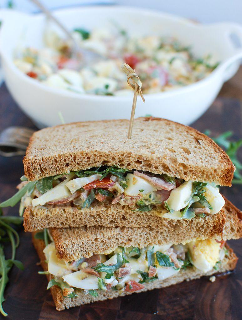 Bacon Egg Salad Sandwich