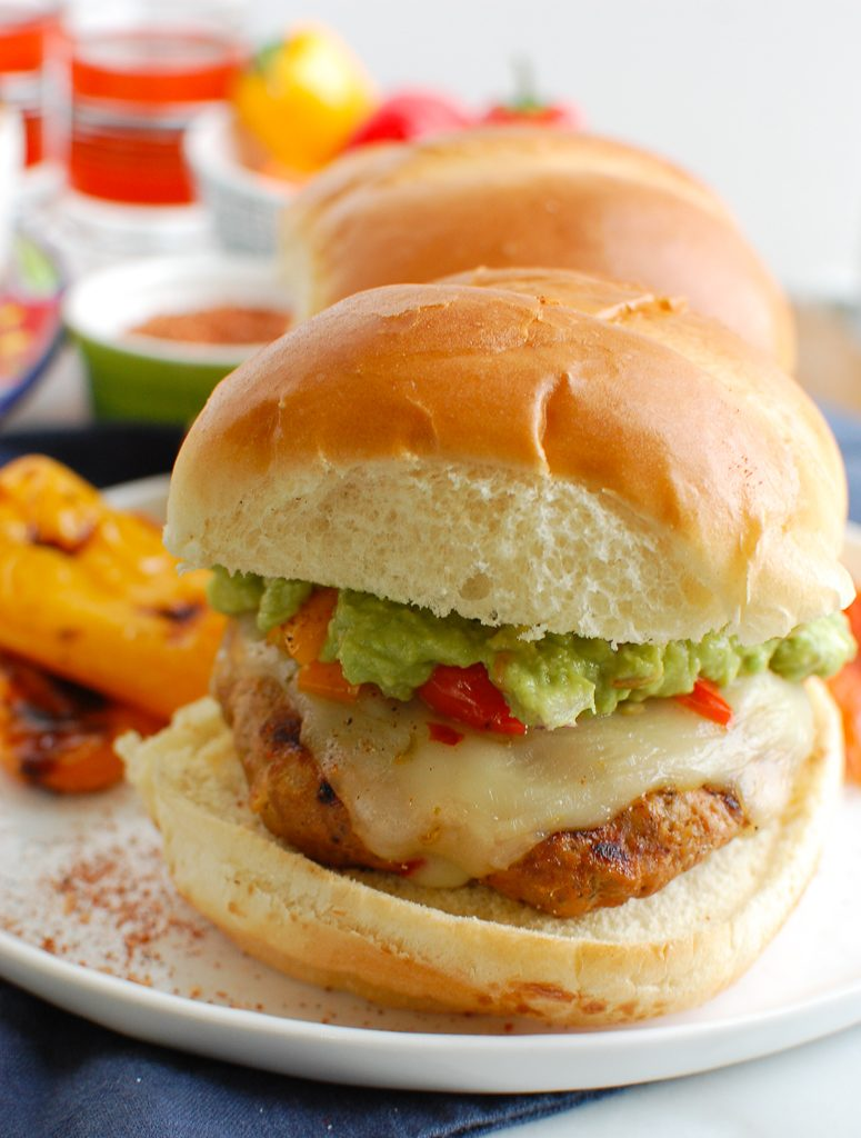 Pork Burgers with bun