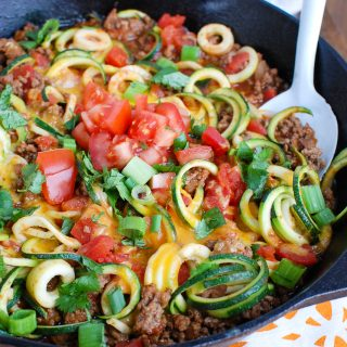 Mexican Zucchini Skillet