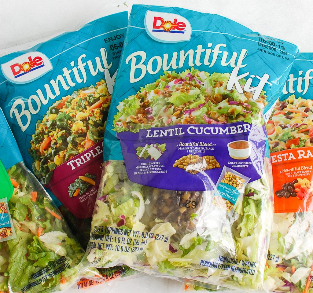 Asian Pasta Salad Bountiful Salad Kits