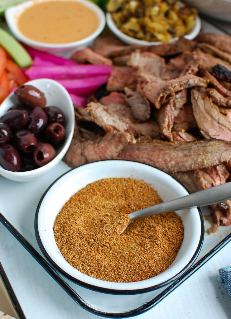 Shawarma Seasoning with Steak