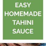 Tahini Sauce for beef