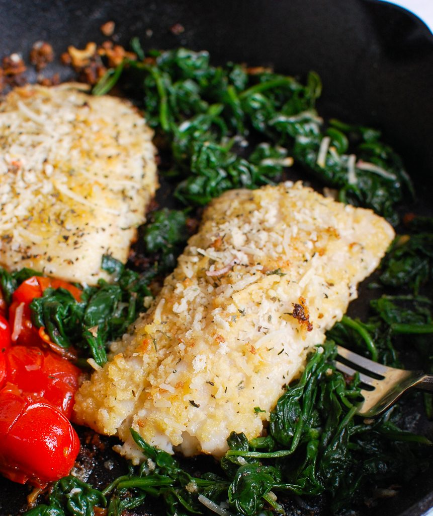 Black Sea Bass Recipe with tomatoes
