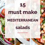 15 Must Make Mediterranean Salads