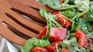 Arugula Salad with Capers