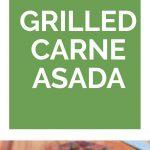 Grilled Carne Asada Collage